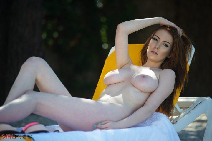 Sexy neighbor milf in pool