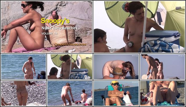 Snoopy's Nude Euro Beaches 18 HD