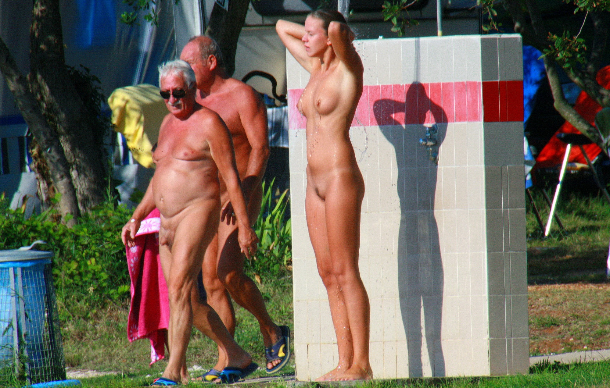 camping-shower-nude