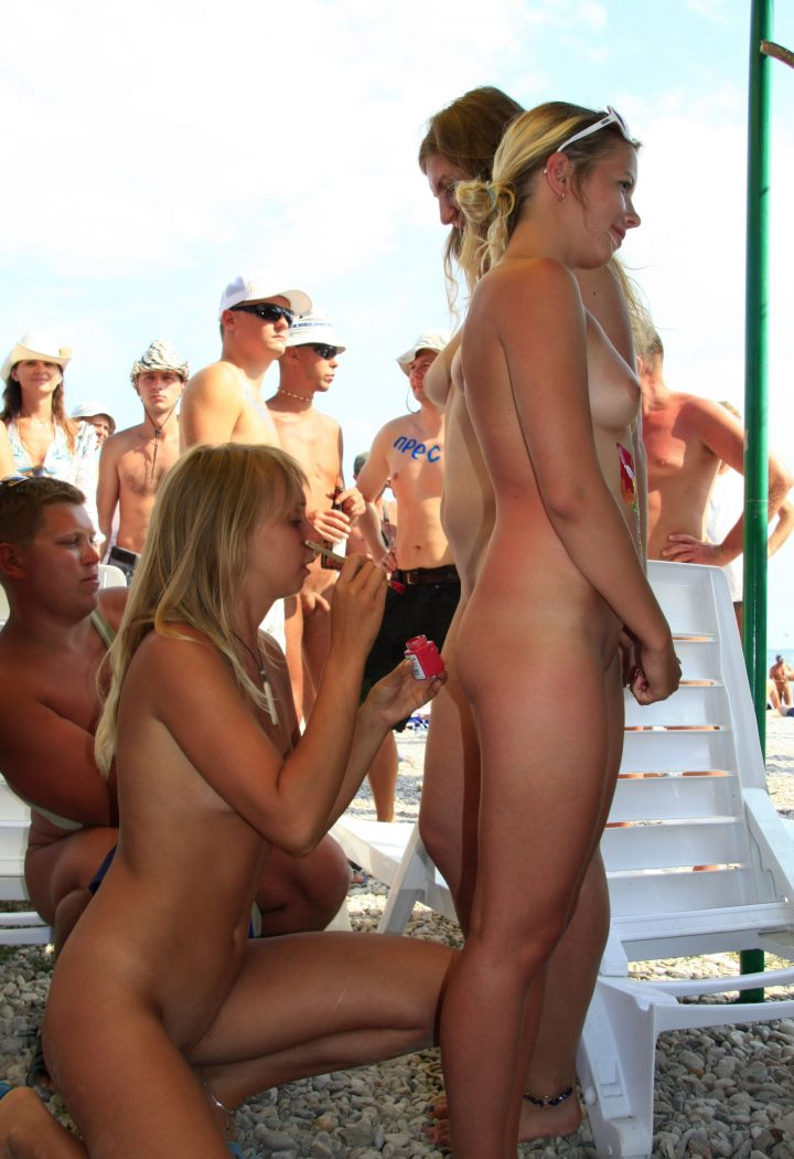 Were visited Family at nude beach congratulate, magnificent
