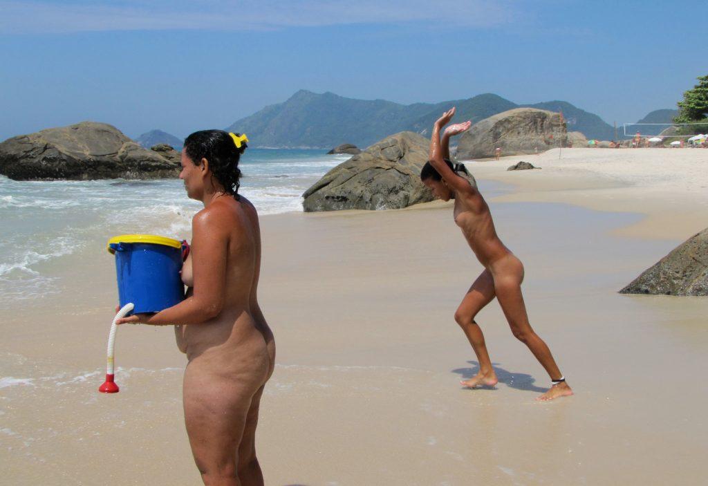 Nudists Family Nude Beach - Voyeurpapa-8726