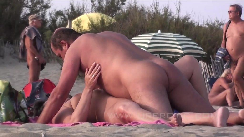 Old outdoor sex video