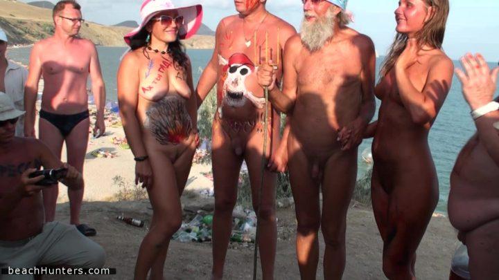 Body art festival spectacular nudism 2
