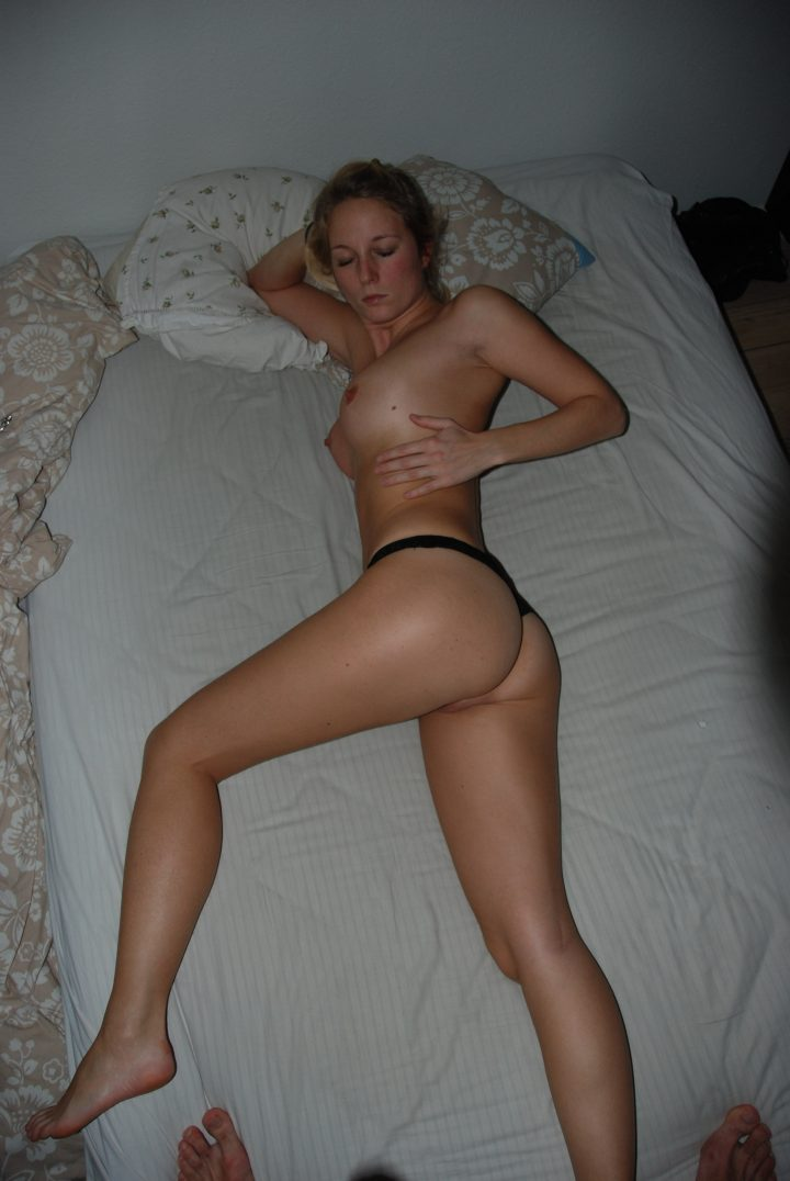 Perfect German Blonde Girlfriend Vacation And Sex
