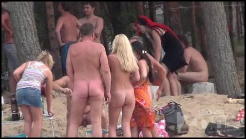 Voyeur nude beach collection (natural boobs)