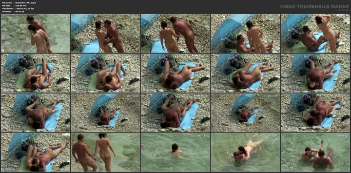 Sex in spanish beach