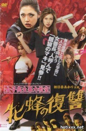 Бойня в средней школе 2 / 女子高生暴力教室 牝蜂の復讐 / Joshi Kosei Boryoku Kyoshitsu 2 / Bloodbath at Pinky High Part 2 (2012)