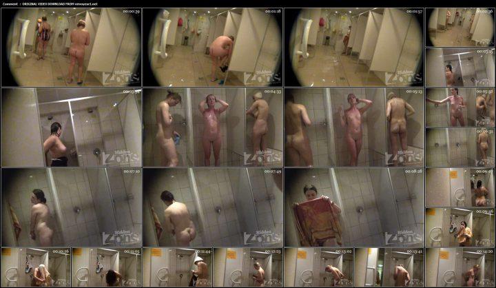 Shower room and locker room videos