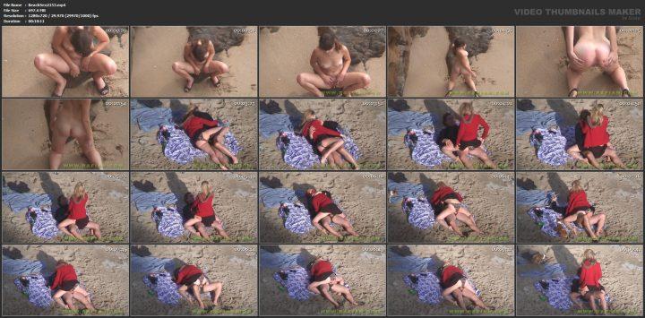 Voyeur sex in public places beach