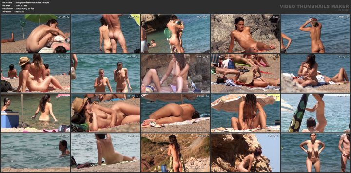 Snoopy Nude Euro Beaches 34