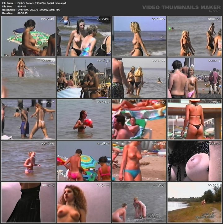 Pjotr's Cannes 1996 Plus Nudist Lake