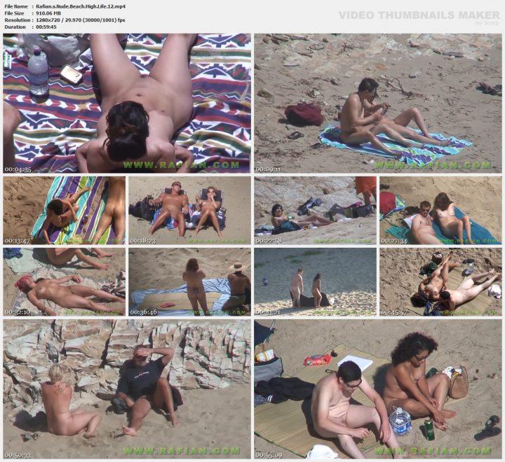 Rafians Nude Beach High Life 12