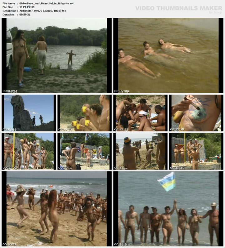 Family Pure Nudism Bare Beautiful in Bulgaria