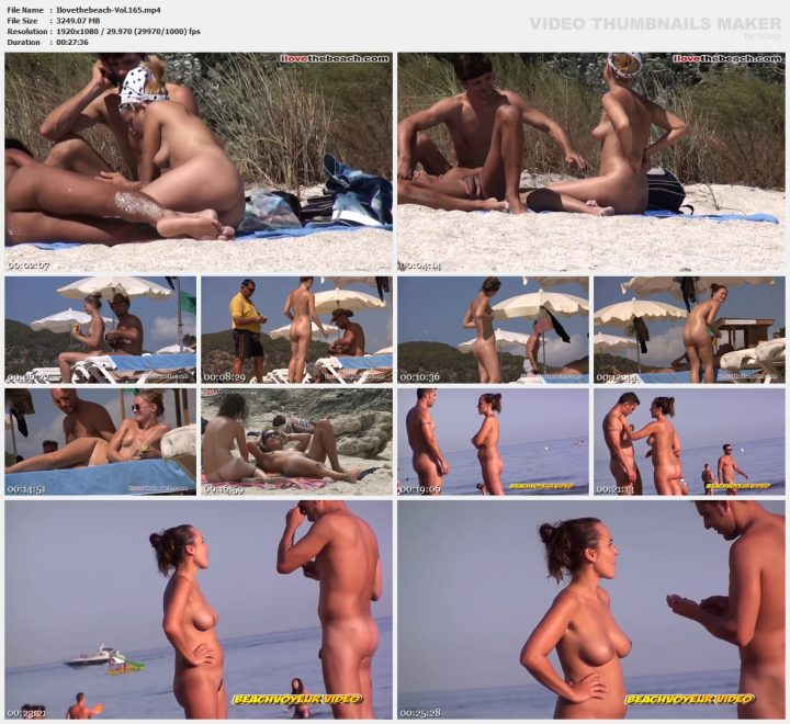 I love the beach -Vol.165