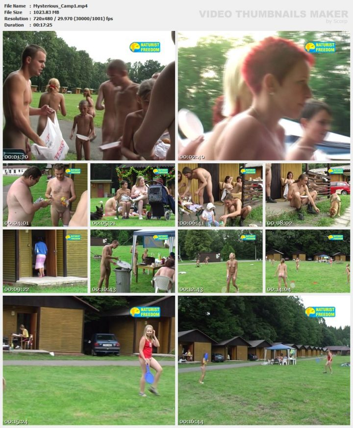 Family Pure Nudism Mysterious Camp 1