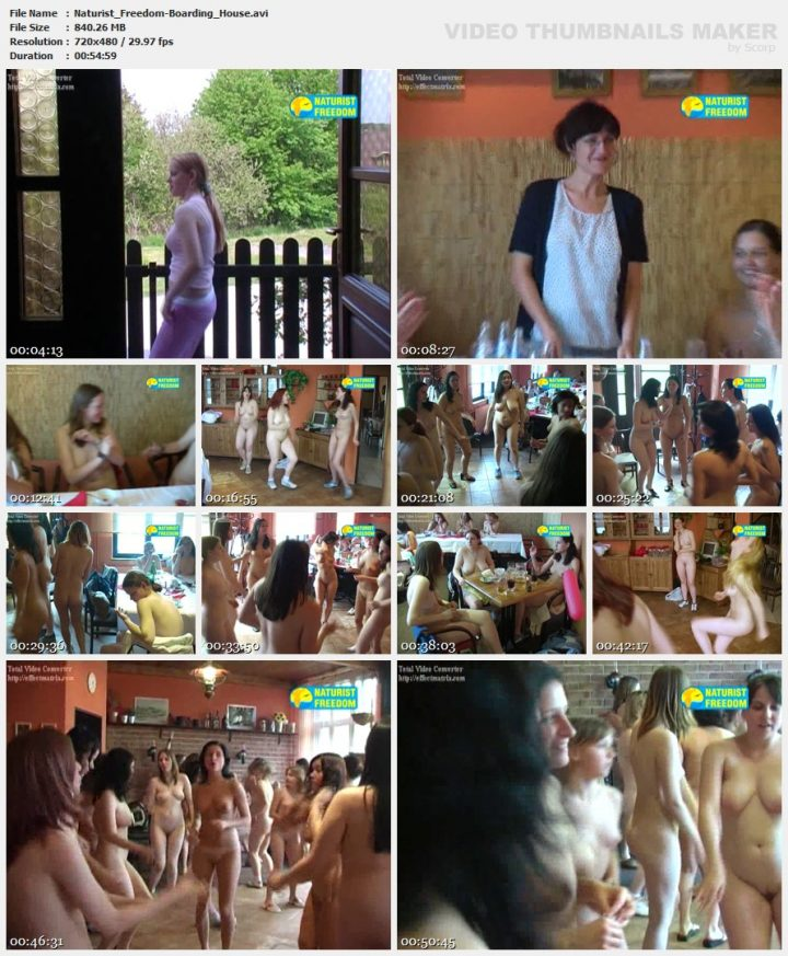 Family Pure Nudism Naturist Freedom-Boarding House