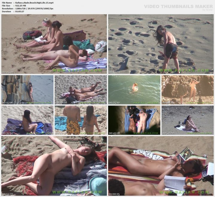 Rafians Nude Beach High Life 15