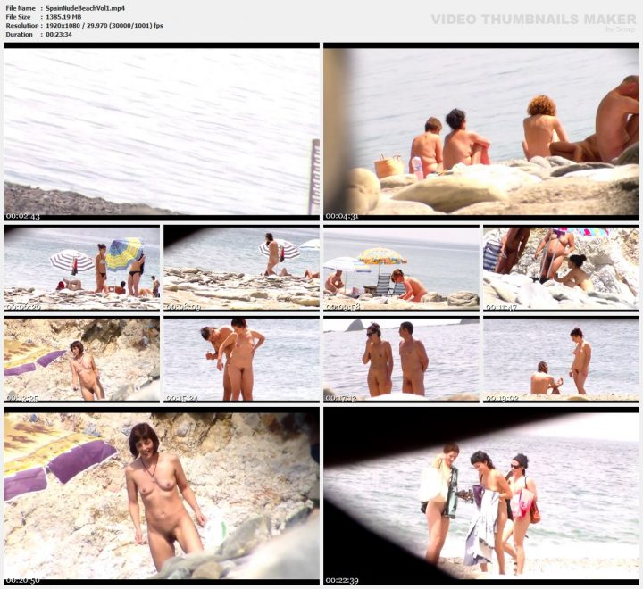 Spain Nude Beach Vol 1