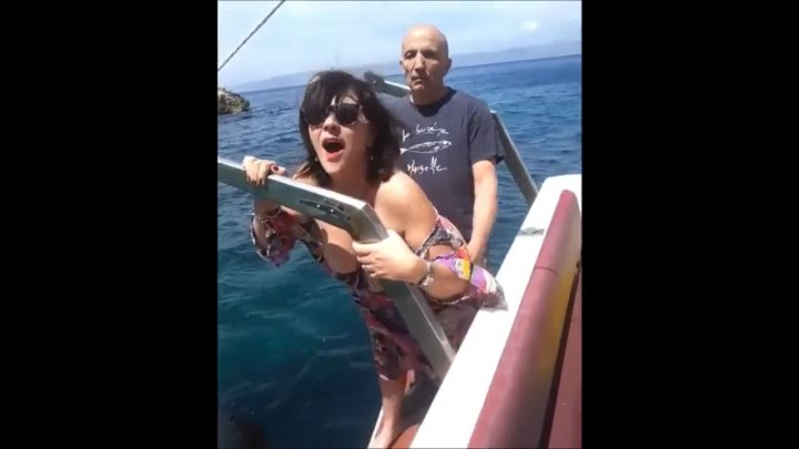 VACATION FUCKING ON A BOAT