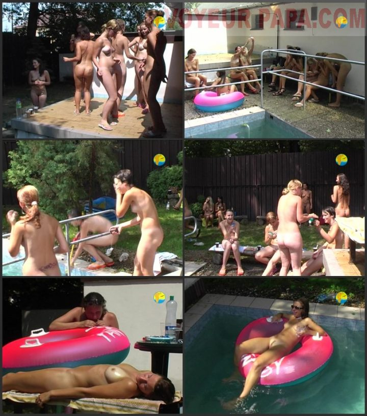 Family Pure Nudism Naturist Freedom-Girlfriends Together