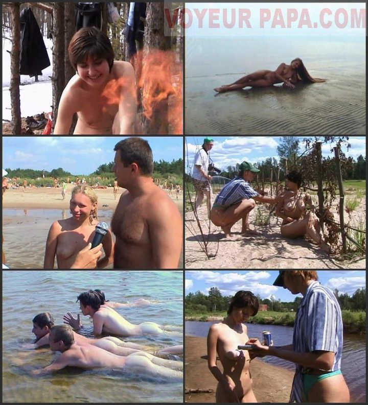 Family Pure Nudism Dressed by Sun