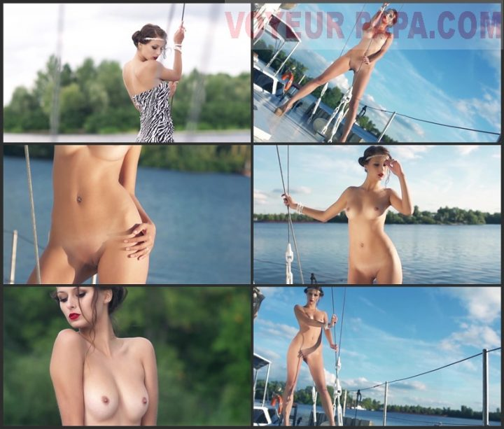 Ekaterina Nude in the River