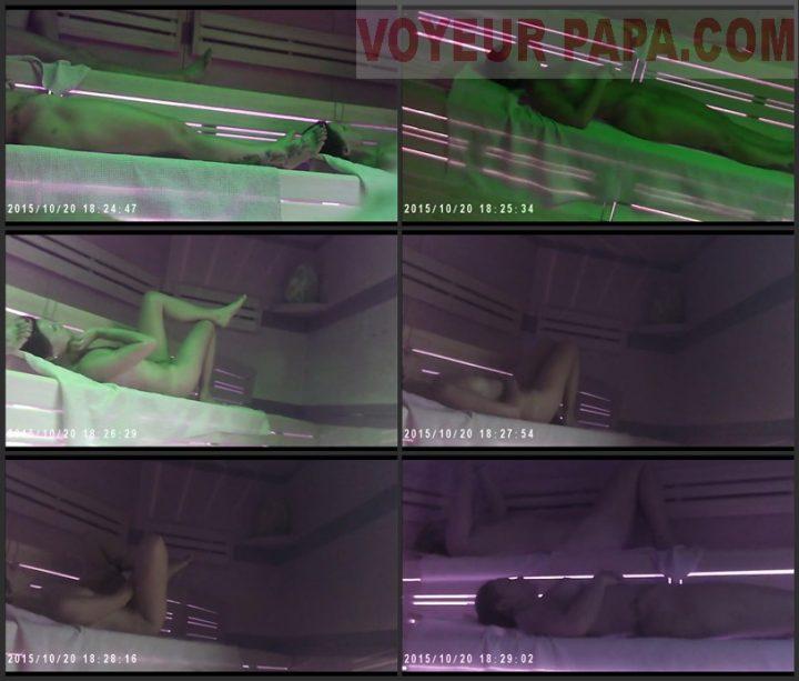Spying in the public sauna 1