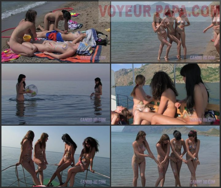 Family Pure Nudism Candid-Hd-Sisters Celebration 2