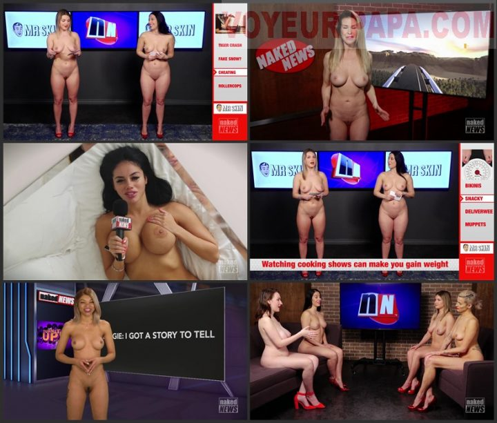 Girls from Naked News: 02/24/21 – 1080