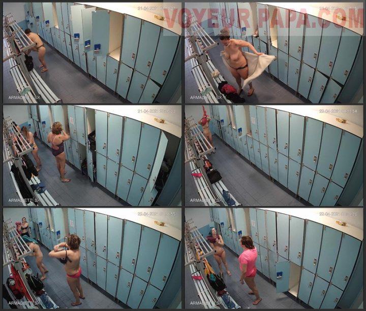 hidden camera in the women's locker room fitness club 1