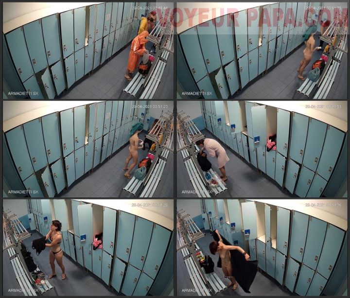 hidden camera in the women's locker room fitness club 3
