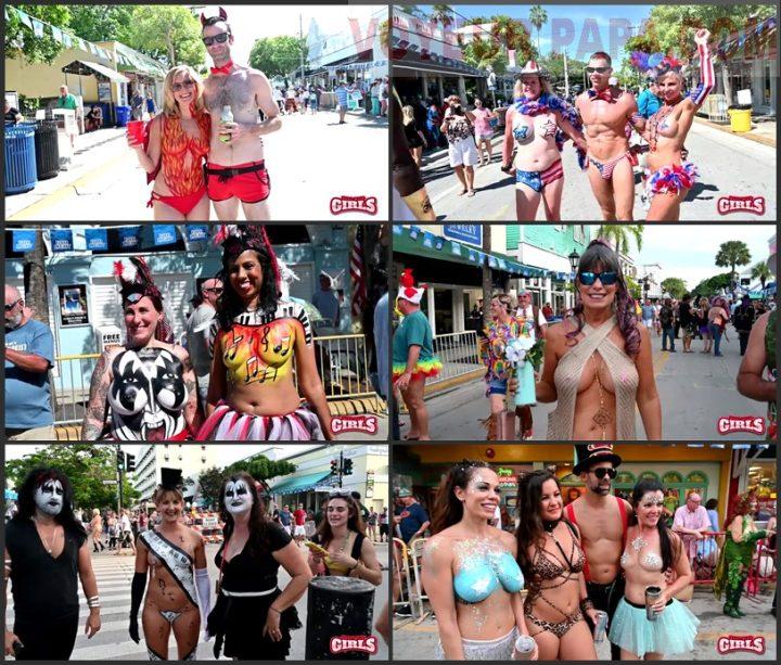 Big Tits Flashing Fantasy Fest